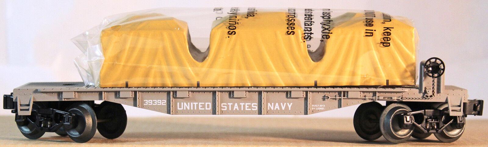 Lionel US Navy 6-39392 Flat Car