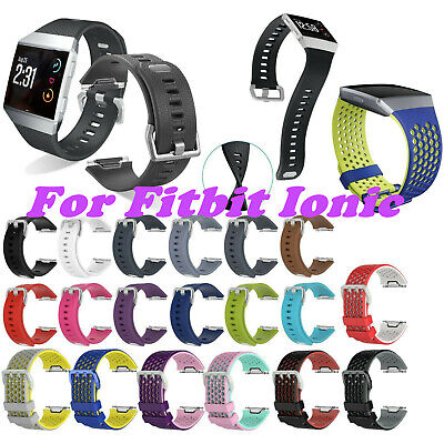 Lightweight Sport Silicone Wrist Bracelet Band Strap for Fitbit Ionic Well