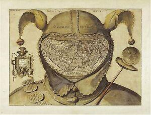 Fool-s-Cap-Map-of-the-World-1580-1590-UNKNOWN-ORIGINS-Orontius-Fineus-POSTER