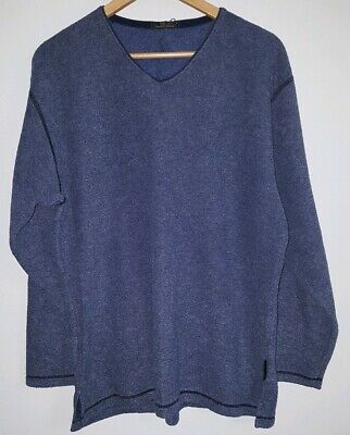 "100% Wahr Mens Jumper Chest 38""/40"" M&s Blue"