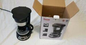 GradeSwan SK13130N 750ml Programmable Coffee Maker Anti Drip 700W Black kettle