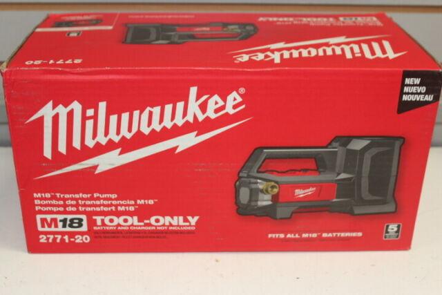 Milwaukee 2771-20 M18 Self Priming Cordless Transfer Pump New in Box