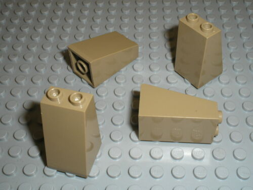 LEGO DkTan slope brick ref 3684 set 7627 7307 7327 7326 4192 ...