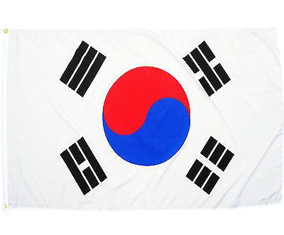 Fahne Südkorea 90 x 150 cm südkoreanische Hiss Flagge Nationalflagge