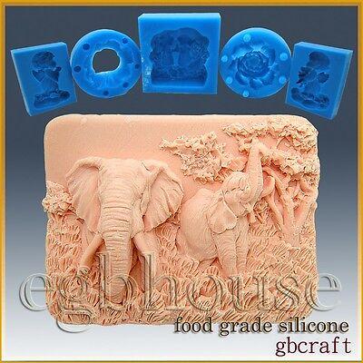 Ruffled Iris silicone Soap//sugar//fondant//chocolate//Marzipan 2D mold