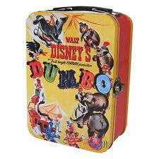DUMBO FILM POSTER TIN TOTE LUNCH BOX RETRO VINTAGE CADDY WALT DISNEY ELEPHANT