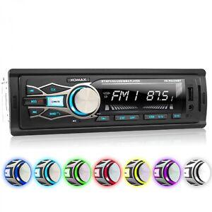 AUTORADIO-MIT-BLUETOOTH-FREISPRECH-EINRICHTUNG-USB-SD-AUX-MP3-1DIN-OHNE-CD