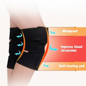 Magnetic-Self-Heating-Knee-Pad-Thermal-Therapy-Arthritis-Support-Protector-Love
