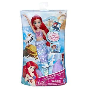 DISNEY PRINCESS - Muñecas Disney Princess Muñeca Cantarina Ariel 3 Años