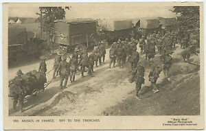 Anzacs-In-France-Military-off-to-the-trenches-WWI