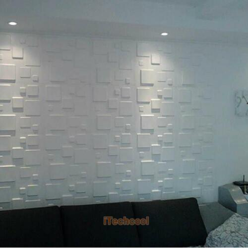 3D PE Foam Embossed Brick Wall Paper Wall Sticker Decal Backdrop Self-adhesive