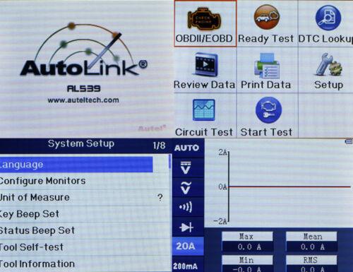 Details about AUTEL AutoLink AL539 OBD2 Engine Diagnostic Tool Code Reader  for FORD Holden AU