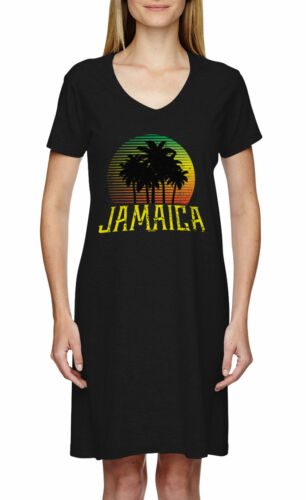 Vacation Rasta Rastafarian Smoke Dress Jamaica Scene