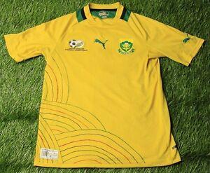 SOUTH AFRICA NATIONAL TEAM 2011-2012 FOOTBALL SHIRT JERSEY HOME PUMA ... 8193a074b