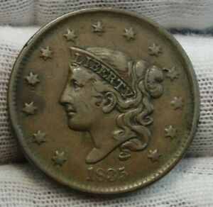 1835-Penny-Coronet-Large-Cent-Nice-Coin-Free-Shipping-8856
