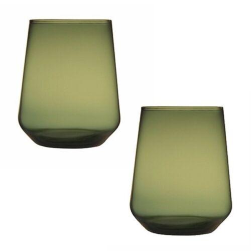 Iittala Wassergläser Essence Moosgrün 2-teilig