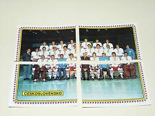 N°70 71 72 73 CSSR TEAM PANINI HOCKEY 79 ICE GLACE 1979 CHAMPIONNAT DU MONDE