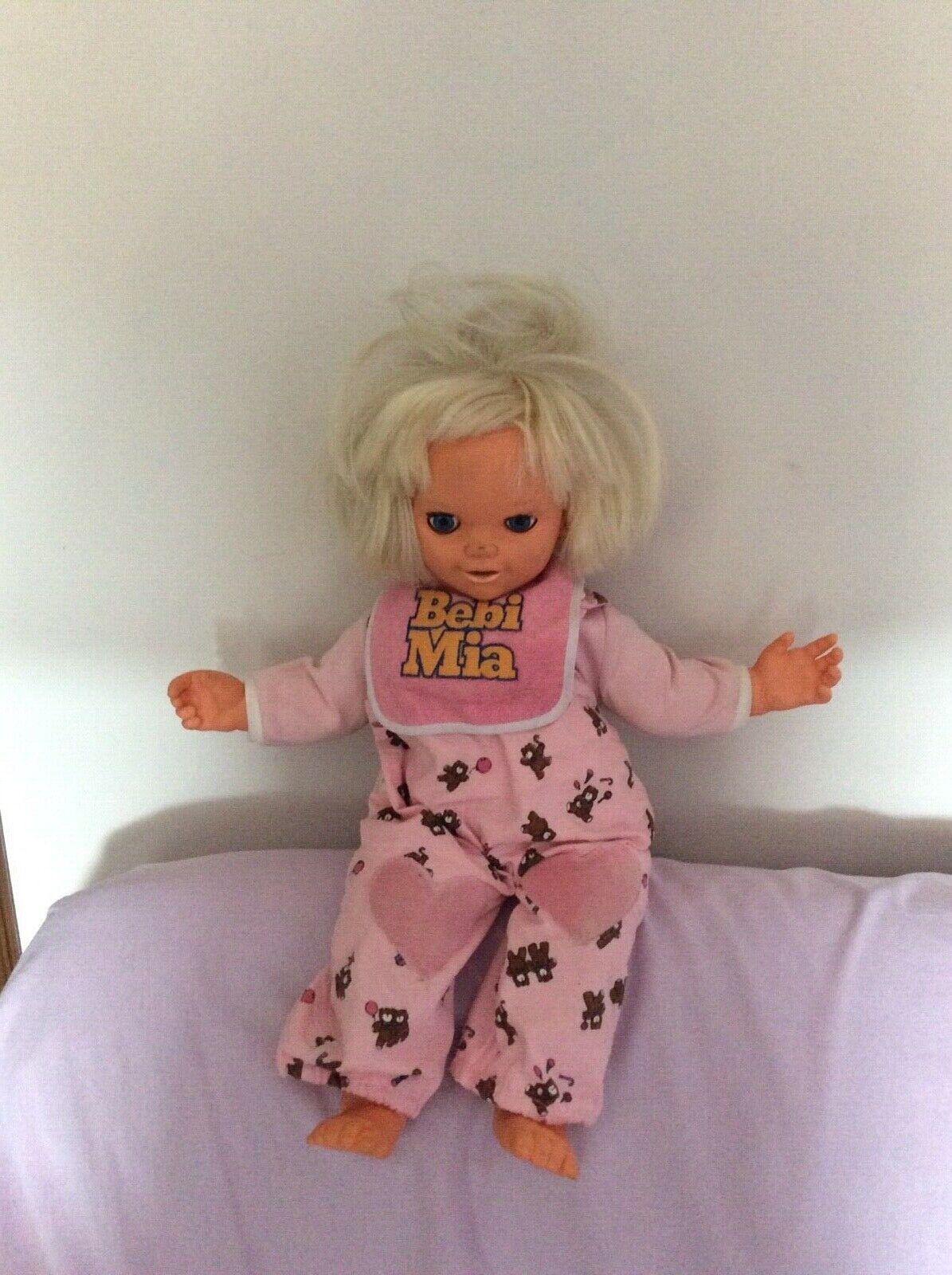 Rarissima bambola bebi mia galoob 1986 vintage originale da collezione