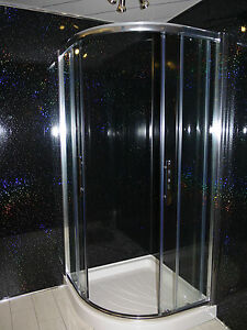 Black sparkle bathroom 8mm pvc cladding shower ceiling for Bathroom wet wall designs