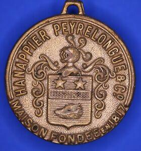 HANAPPIER-Peyrelongue-amp-Co-Maison-fondee-en-1817-medaille-31-mm-18170