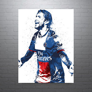 Maxwell Paris Saint-Germain PSG Futbol Soccer Poster FREE US SHIPPING