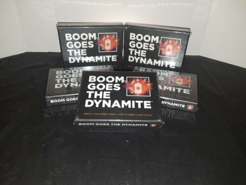 *BRAND NEW* Boom Goes The Dynamite Sealed Card Game