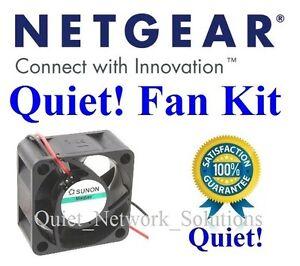 Details about 1x Quiet replacement fan for Netgear JGS524 (single fan  version) Low Noise