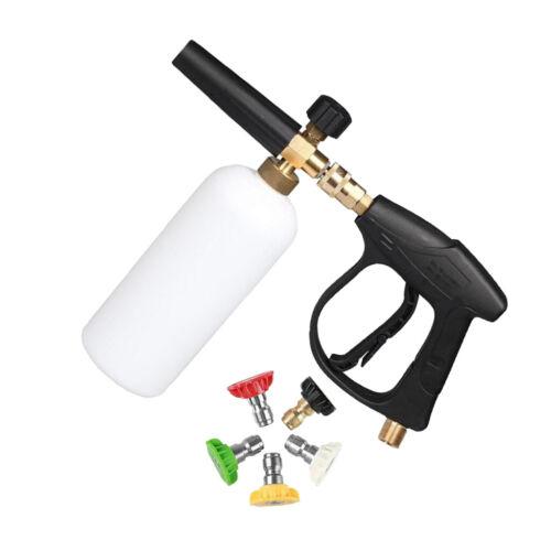 """MagiDeal 1//4 /""""Hochdruckreiniger Schneeschaumlanze Wash Gun Sprayer 1L"""