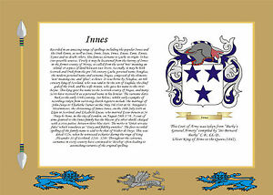 PERSONALISED-PARCHMENT-FAMILY-SURNAME-HISTORY-CREST-COAT-OF-ARMS-TARTAN