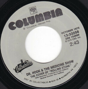 "DR HOOK & THE MEDICINE SHOW - The Cover Of Rolling Stone   7"" 45"