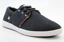 New DC SHOES Mens Haven SP Lifestyle Shoes Black Print Canvas Textile BW1