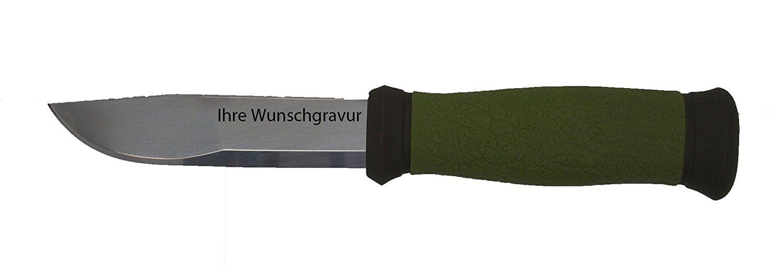 Morakniv Gürtelmesser 2000, persönlicher Kunststoff-Scheide, mit persönlicher 2000, Wunschgravur b9d228