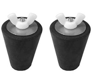 2 Pack Winter Pool Rubber Expansion Plug For Return