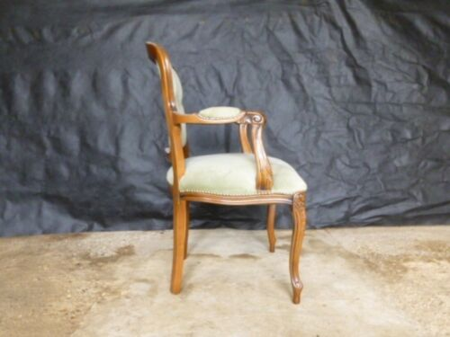 EB558 Carved Beech Arm Chair Vintage Retro Danish Interiors Lounge Seating