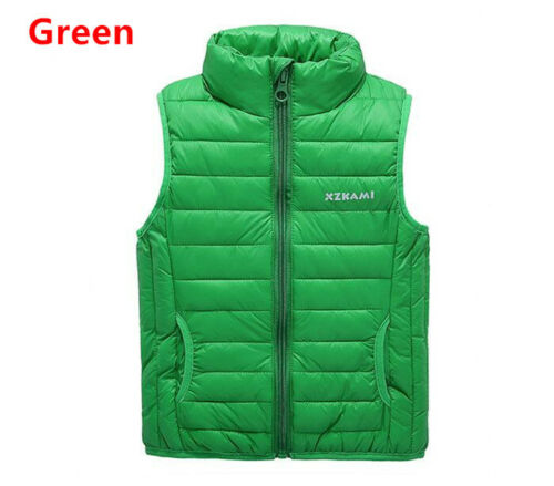Children/'s Baby Boy and Girl Clothes Ultralight Thick Warm Cotton jackets Vest