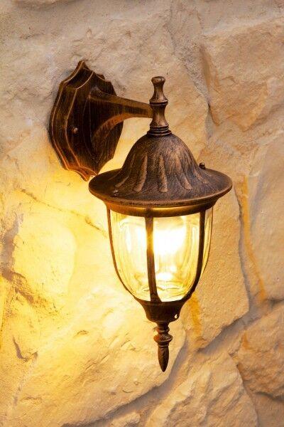 Aussenleuchte Wandlampe klassische Wandleuchte Wandleuchte Wandleuchte Aussenwandlampe Aussenlampe Glas | Angenehmes Gefühl  | Guter Markt  | Elegante Form  dfd18d