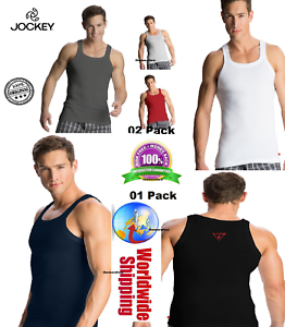 140844ea01b93 Image is loading Men-039-s-Square-Neck-Vest-Jockey-Cotton-