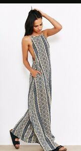 Band-of-Gypsies-Urban-Outfitters-Boho-Maxi-Dress-L