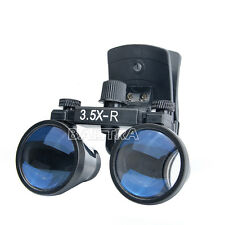 Dental Binocular Loupes Surgical Glasses Magnifier Clip On Style Dy 110 35x R