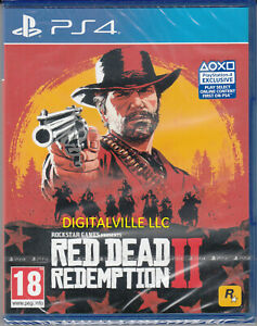 Red Dead Redemption 2 PS4 Brand New Factory Sealed