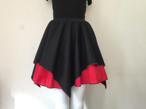 Costume Fun Vampire Halloween Skirt Fancy Dress