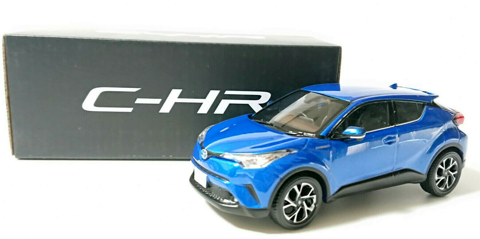 CHR TOYOTA Storefront Display Items bluee Metallic Not sold in stores Model Car