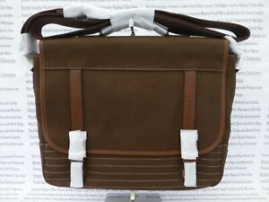 Olive Bag Medium Fossil Schultertasche Neu Commuter Canvas Evan Umhängetasche Messenger FEpqYdBwq