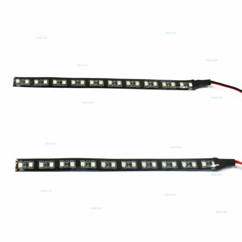 LED Turn Signals Lights Indicator Strips For Fork Fit Ducati Harley Honda KTM
