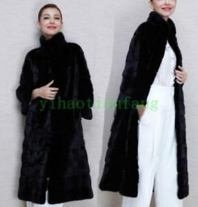 Outdoor Collar Jacket Rabbit Winter Faux Vogue Furry Long Womens Cappotti Fur Parka XwPFFq
