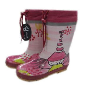 Maximo Gummistiefel Regenstiefel Gefüttert Winter Kinder Mädchen Pink Größe 20 Ebay