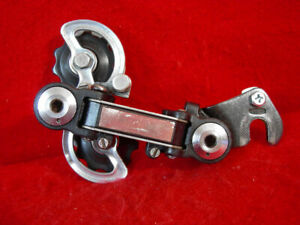 Simplex-5-Speed-Rear-Derailleur-Short-Cage-New-Jockey-Wheels-Used