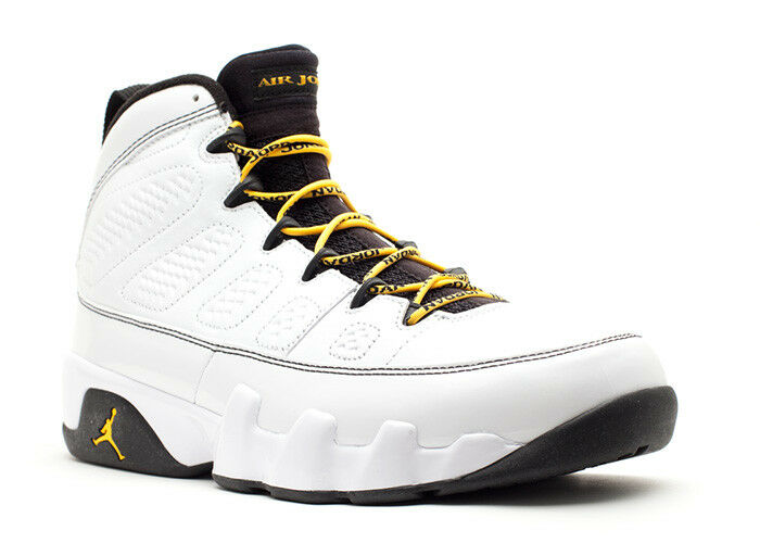 Nike Air Jordan 9 IX Retro Quai 54 Q54 White Maize Size 12. 302370-105