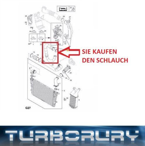 TURBO SCHLAUCH LADELUFTSCHLAUCH OPEL ZAFIRA B 1.7 CDTI 13249020 13306653 835725