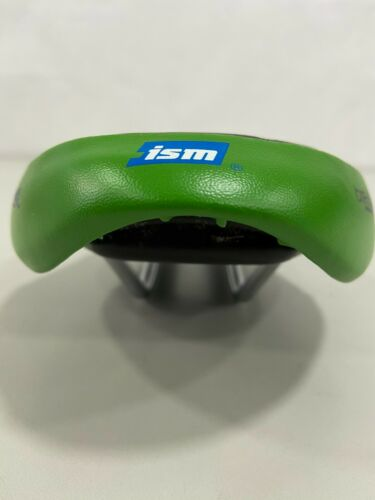 Details about  /ISM Adamo Breakaway 135x270mm 30-Series Foam and Gel Bicycle Saddle Black//Green